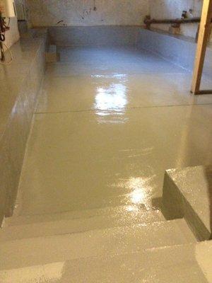 Water Born Epoxy Floor Coating