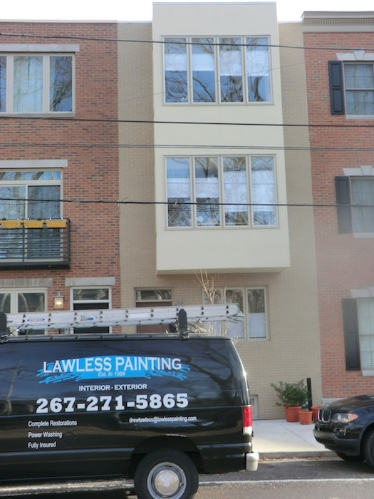AFTER: Exterior Painting in Philadelphia