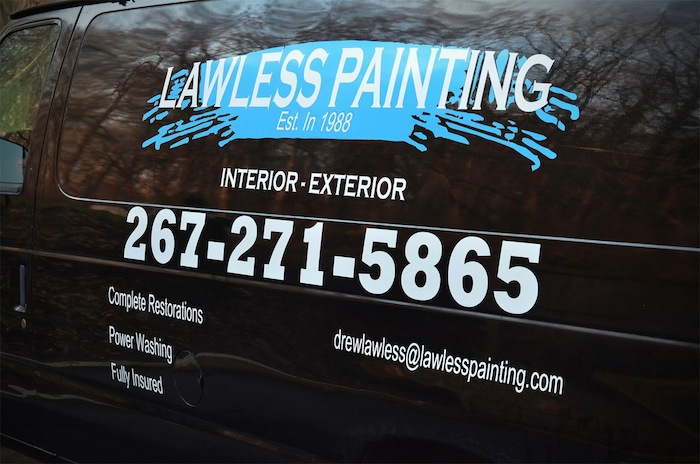 House Painter in Center City Philadelphia PA